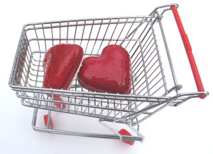 Shopping for love?