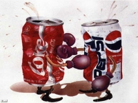 Coca Cola versus Pepsi Cola