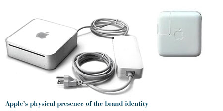Apple's rounded brand identity